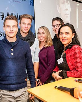 Exkursion Mediendisput: 16.10. - Foto: Wolfgang Tischler