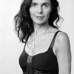 Portrait Marlis Prinzing, Schwarz-Weiß